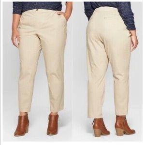 Ava and Viv Ankle Khaki Pants !